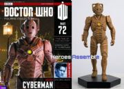 Doctor Who Figurine Collection #072 Wooden Cyberman Eaglemoss